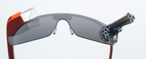 Blotter.com's Google Glass Gun