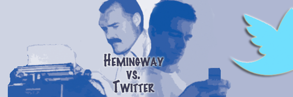 How Ernest Hemingway Invented Tweets