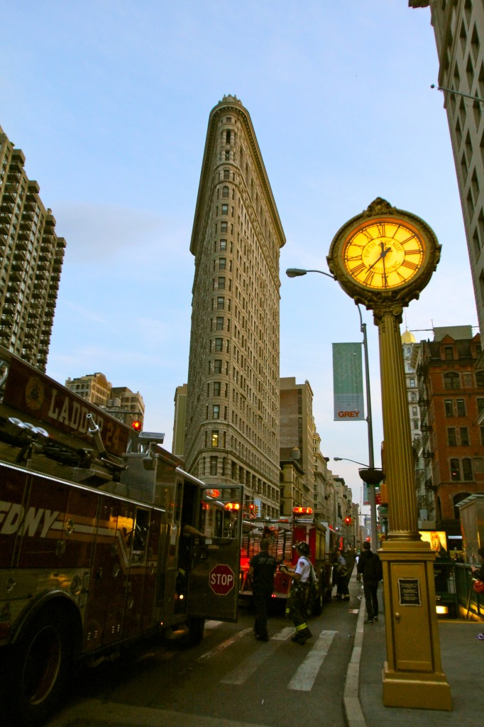 New York's Flatiron Building