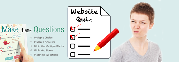 Why a website quiz creator works
