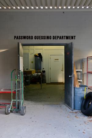 Blotter Password Reset