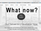 Why is my website down? What do I do next?
