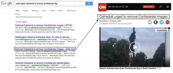 CNN Bait and Switch Headline