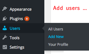 Customize User Roles