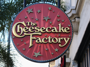 Cheesecake Factory in Greenville