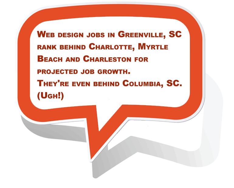 Web Design in Greenville Jobs Summary