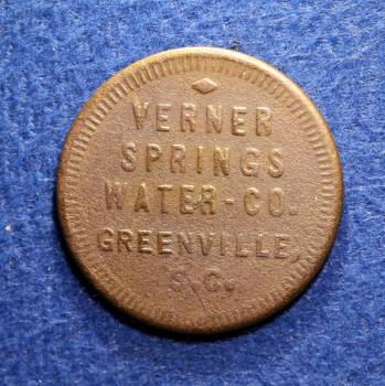 Greenville Bottle Token