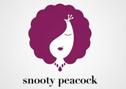 negative-space-logo-snooty-peacock
