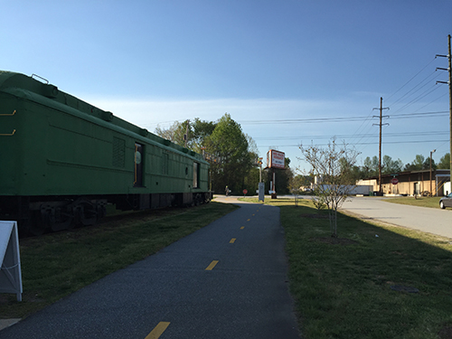 Business on Swamp Rabbit Trail