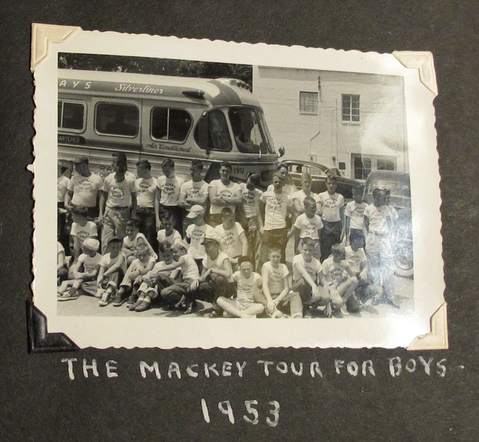 Mackey Tour bus