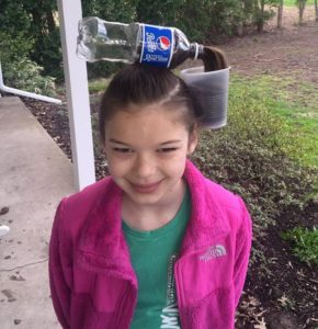Pepsi Cola Hair