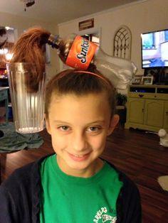 Sunkist Soda Hair
