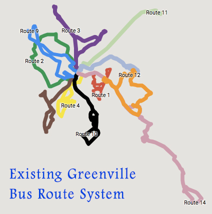 greenville-bus-route